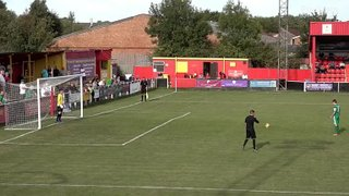 Banbury United 0 Hitchin Town 0 - Jack Harding's two penalty saves