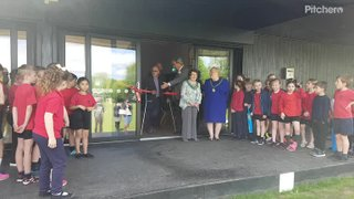 James Foster opening Clubhouse