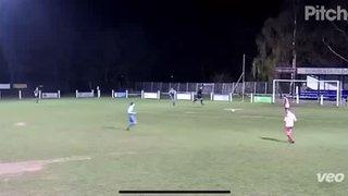 Mitch Woodbine Goal Against Ingles