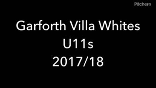 Garforth Villa Whites U11s 2017/18