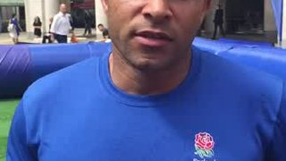 Jason Robinson says 'Play touch at Crowborough Rugby Club'