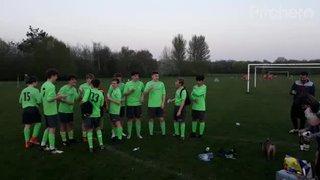 U14 Lions Winning Division 3