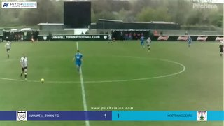 Highlights Hanwell Town v Northwood - Harry Rush Goal