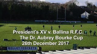 The Dr. Aubrey Bourke Cup 2017