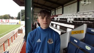 Aaron Brett Post Match Interview - Chasetown FA Cup