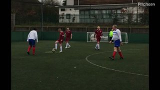 Walking Football Peoples FA Cup first half