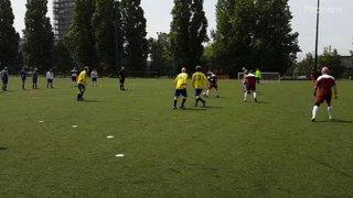 Clarets Walking Football playing at Leyton Orient