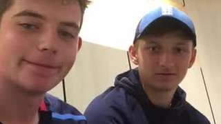 Ethan and Luke's message to North Midd
