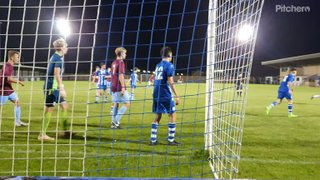 No goal, your offside No 9   U18's away at Clevedon Town FA youth Cup