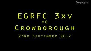 EGRFC 3xv vs Crowborough