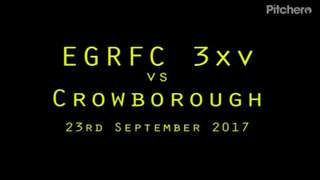 EGRFC 3xv vs Crowborough