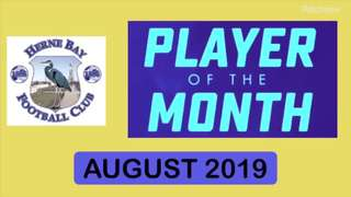 Player of the Month August