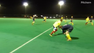 Richard's goal for 2nds to go 2-1 up v 3rds