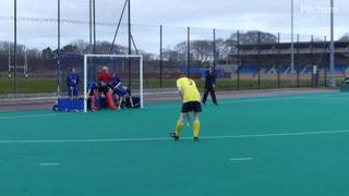 John's goal v Uni 2nds