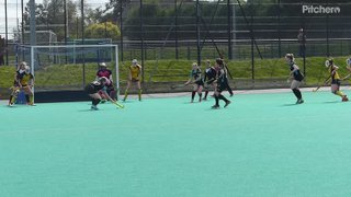 Siobhan's point blank save for Merlins Gordonians v Kelburne in the cup