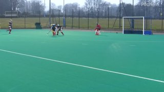 John scores our 3rd goal v GCW to seal the victory