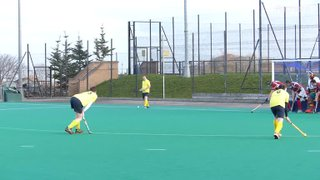 Mike Rennie scores for 4ths from a corner switch