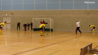 Matthew scores from a corner  - Indoor Development League 22.12.16