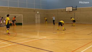 Paco slots home goal 7 in a 7-3 win v Grammar FPs 2nds