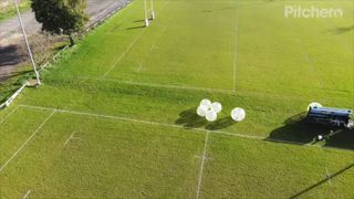 Zorb Football at Shelford Rugby Club
