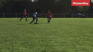 Thierry Gordon scores for FC Premier