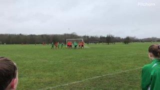 Ruby's goal v Crendon Corinthians U13