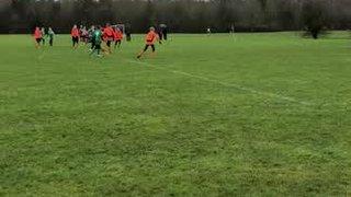 Maddies 1st goal v Crendon Corinthians U13