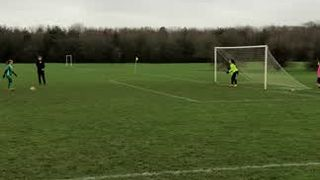 Katie O penalty (3-2)