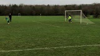 Sophie penalty (2-2)