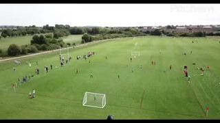 Inaugural Junior Football Festival - Drone Footage part 4