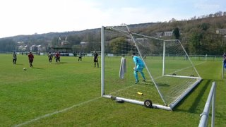 Aberbargoed Home 06Apr2019 Penalty Save 1