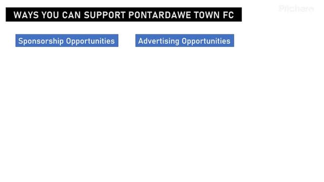 Supporting Pontardawe Town FC in the 2020/2021 Season