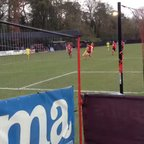 Phil Page opens the scoring against Knaphill