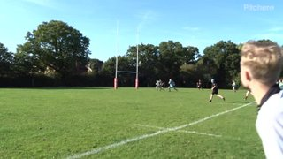 Burgess Hill 3 v Serpents - 4th try: Dave's 2nd