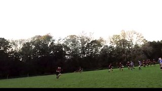 Stu Cotter - Try against Worthing