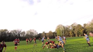 Matt Hodson - 2nd Try against Worthing