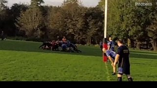 Matt Hodson - 1st Try against Worthing