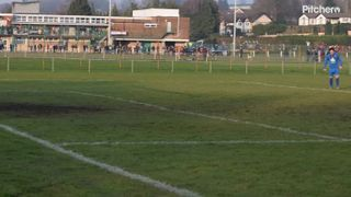 Jona's penalty vs Croesyceiliog