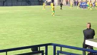 Joe McClennan Free kick v Clevedon
