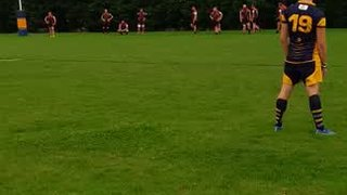 Sam Evison conversion v Chesterfield Panthers 28.10.17