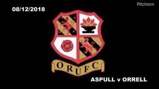 Aspull vs Orrell 8 December 2018 Highlights