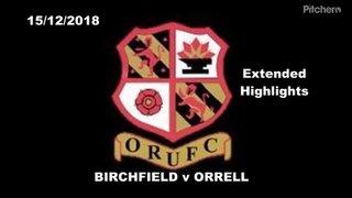 Birchfield RUFC vs Orrell RUFC