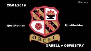 Orrell RUFC vs Oswestry 26 January 2019