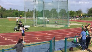 Zack club discus record 24.89m