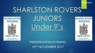 U8's Presentation night