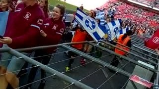 SSE Women's FA Cup Final 2018 Sister Club Parade