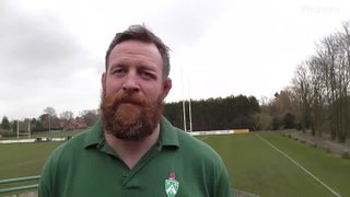 Dean Schofield on 1st XV v Warrington