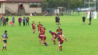 190929 U14s Dundee - Dede's try