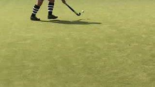 "Sunday Hockey 'Simon in action!"""