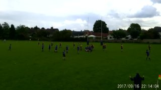 Leicester Forest Colts First points scored by Josh Allen against Market Bos Colts on 160917
